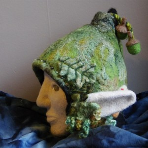 forest sprite hat front
