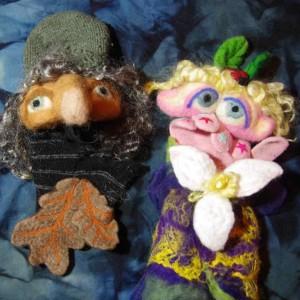 hand glove puppets